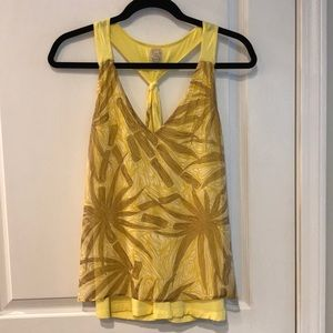 Tops - Yellow camisole